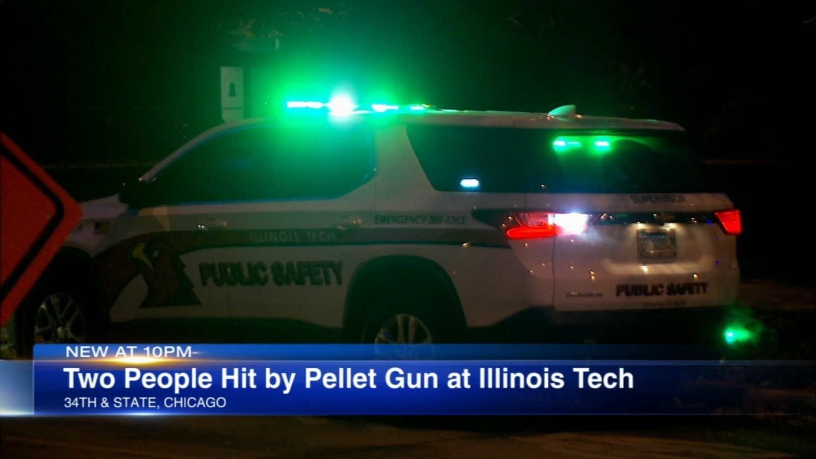 2 hurt in drive-by pellet gun shooting near Illinois Institute of Technology
