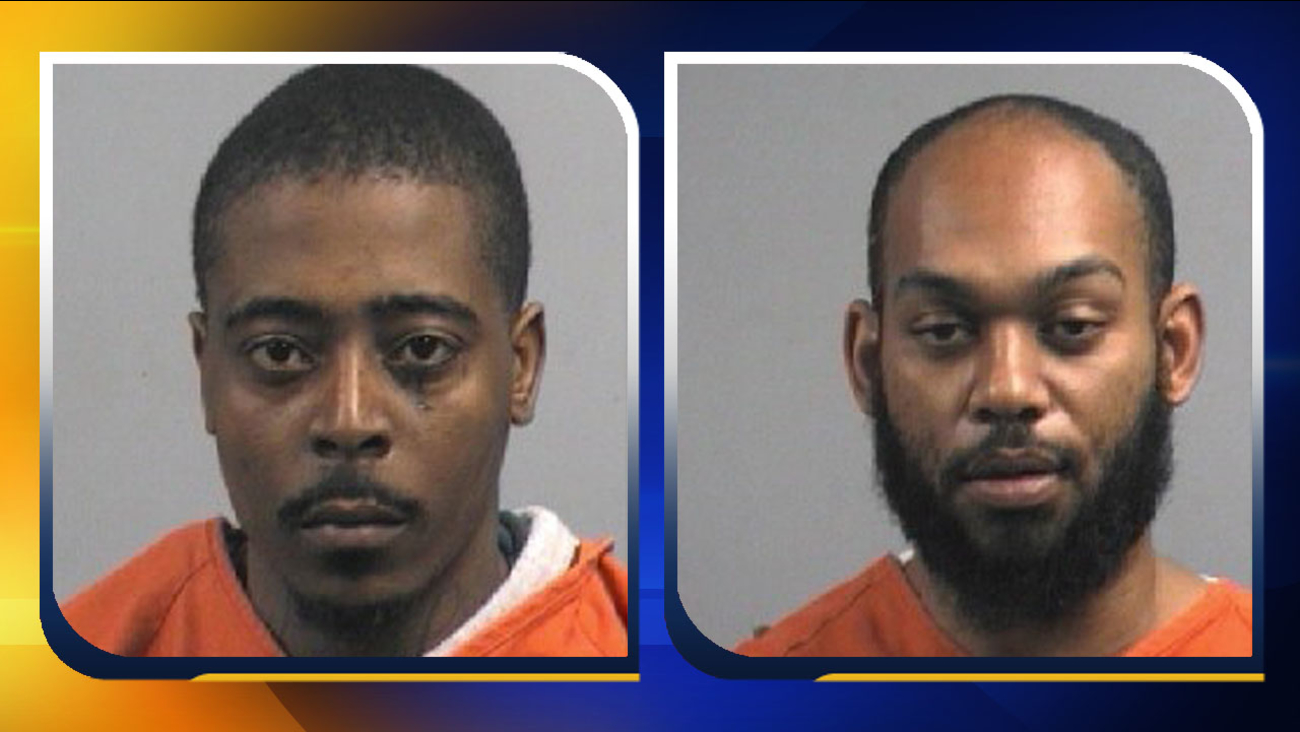 Marquize Marcel Harris (left) and Phillip Alexander Williams (right) (Image courtesy: Goldsboro Police Department)
