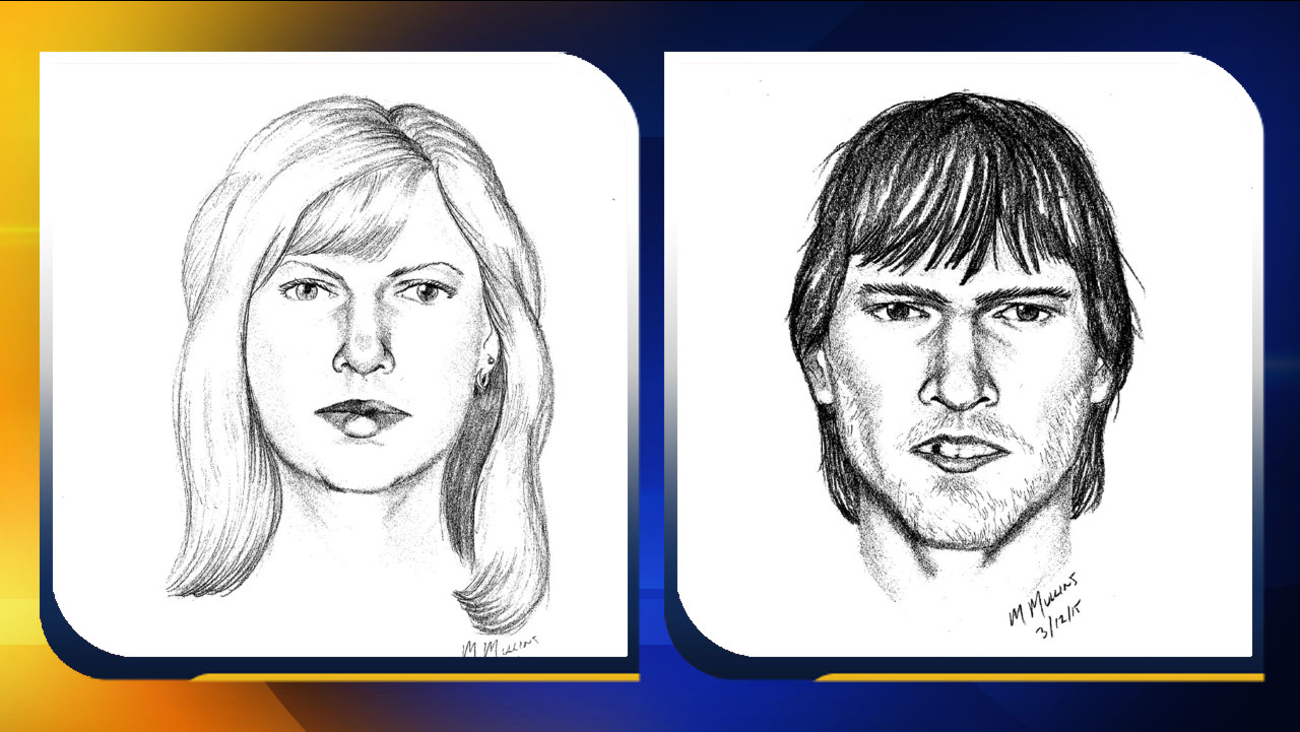 Sketches of two suspects (Courtesy: Chatham County Sheriff's Office)