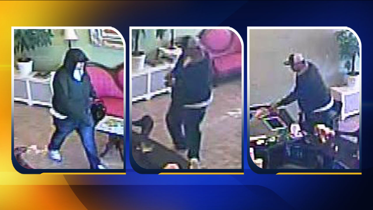 Surveillance video images from Gold Assay (Courtesy: Durham Police Department)