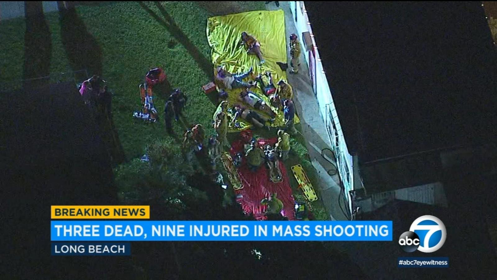 Long Beach mass shooting: 3 dead, 9 injured after gunfire erupts at party - KABC-TV