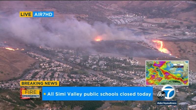 Brush Fire Closes Highway 118 Between Ventura Los Angeles Counties Kclu