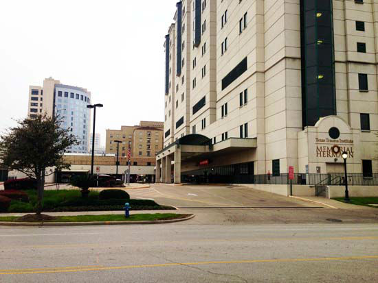 """<div class=""""meta image-caption""""><div class=""""origin-logo origin-image none""""><span>none</span></div><span class=""""caption-text"""">A woman is in the hospital with injuries to her brain after she was shot in the head on the North Freeway (KTRK Photo/ KTRK)</span></div>"""