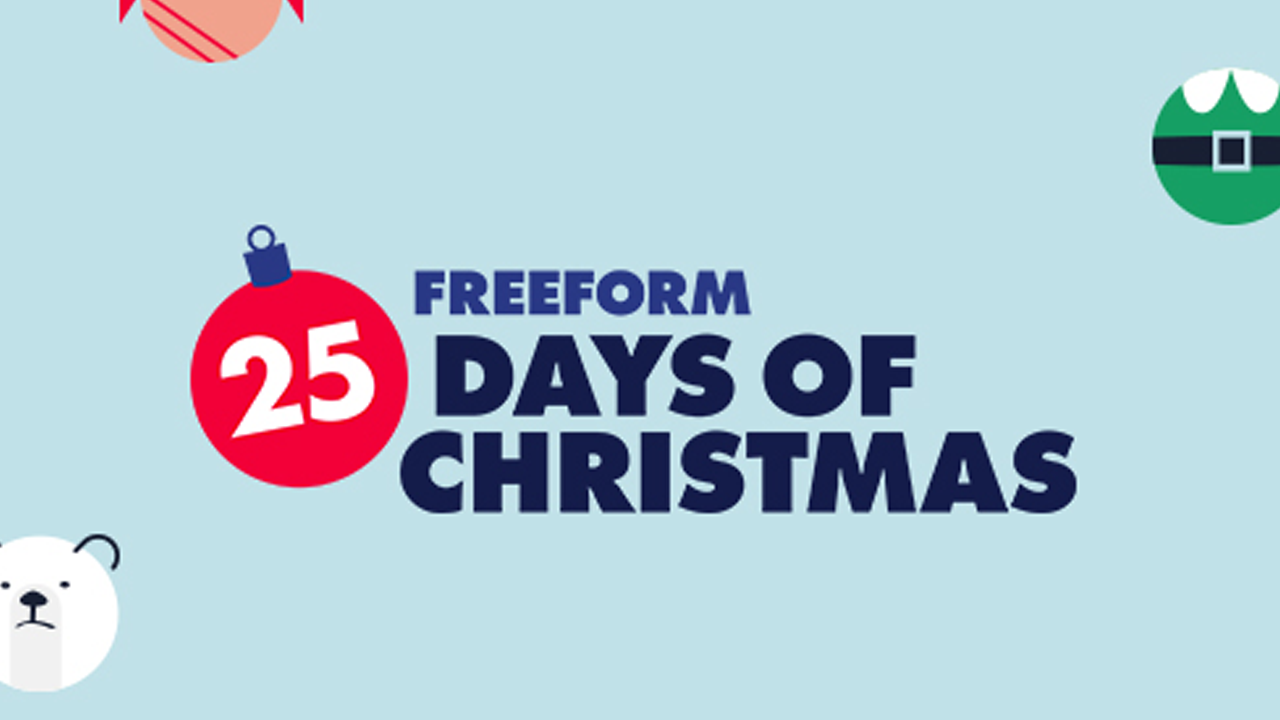 Freeform 25 Days To Christmas 2020 25 Days of Christmas schedule on Freeform includes 'Rudolph the