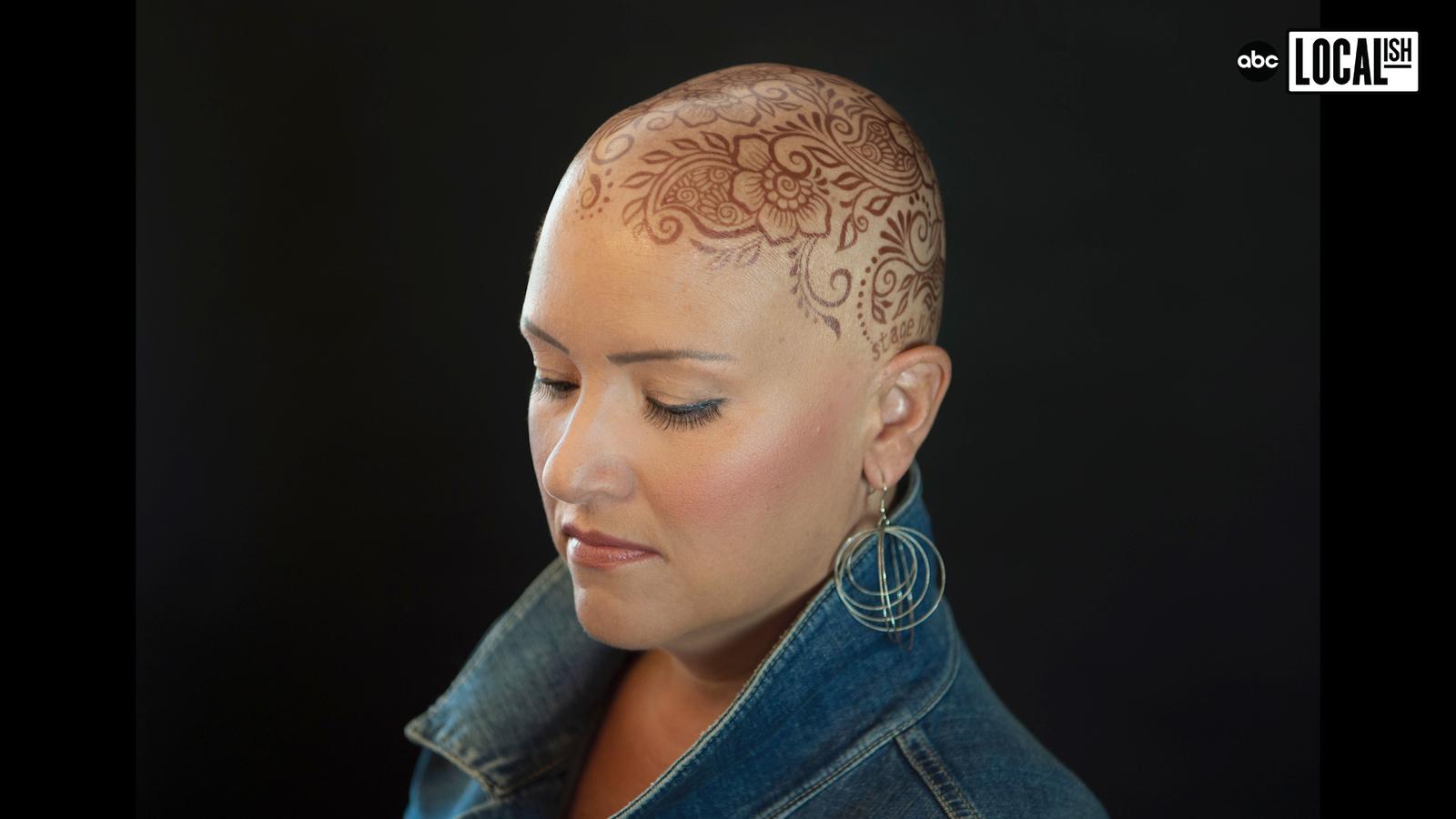 Woman Creates Henna Crowns for Cancer Survivors
