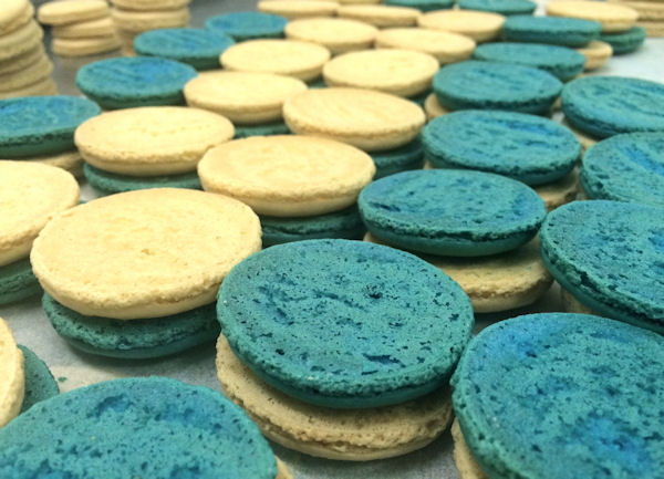 """<div class=""""meta image-caption""""><div class=""""origin-logo origin-image none""""><span>none</span></div><span class=""""caption-text"""">Visitors to MacarOn Cafe will have the choice of 15 to 20 flavors at all locations. MacarOn Cafe offers up to 40 flavors (Leah Frelinghuysen)</span></div>"""