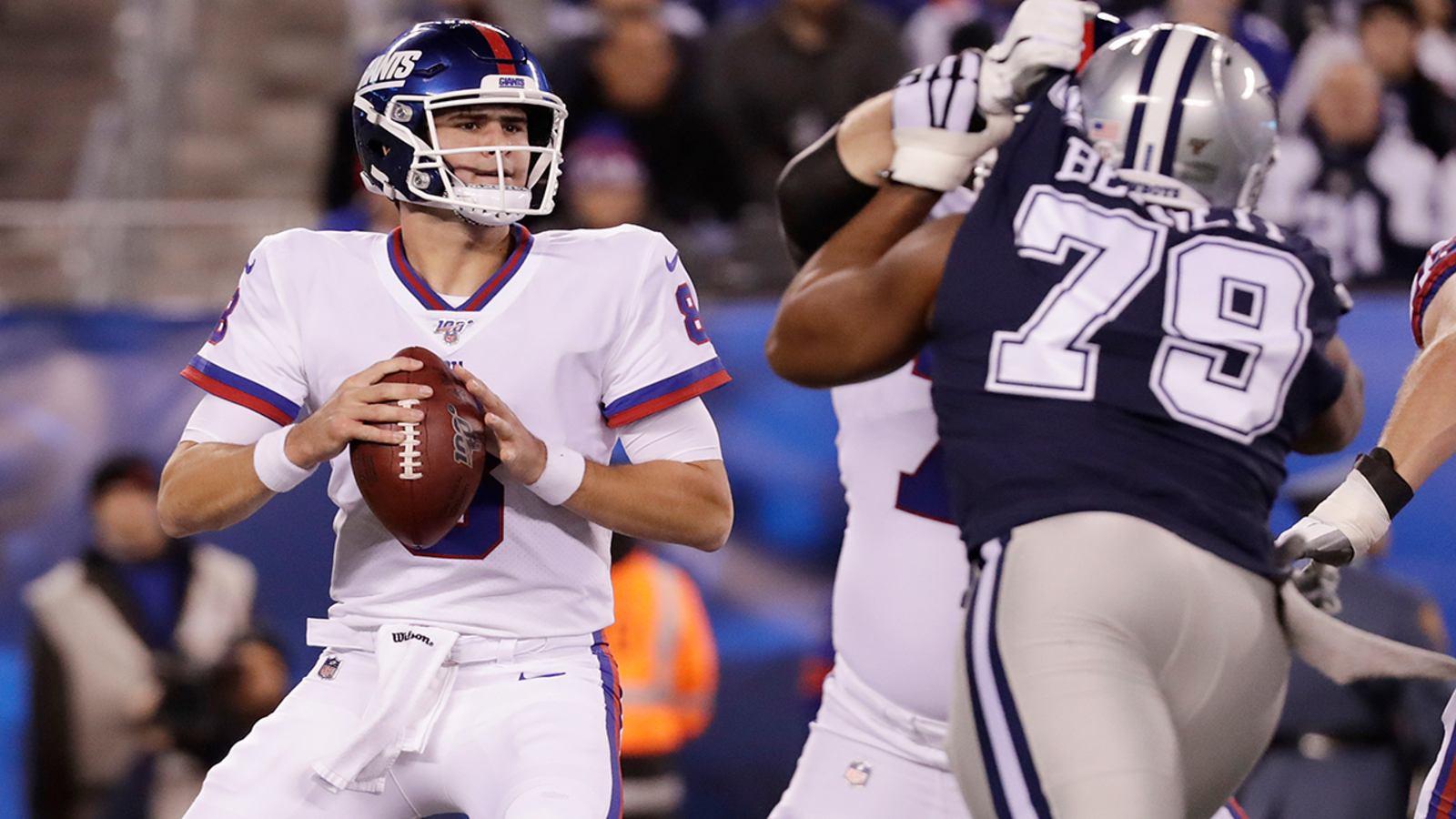 New York Giants Lose To Dallas Cowboys 37 18 On Monday Night