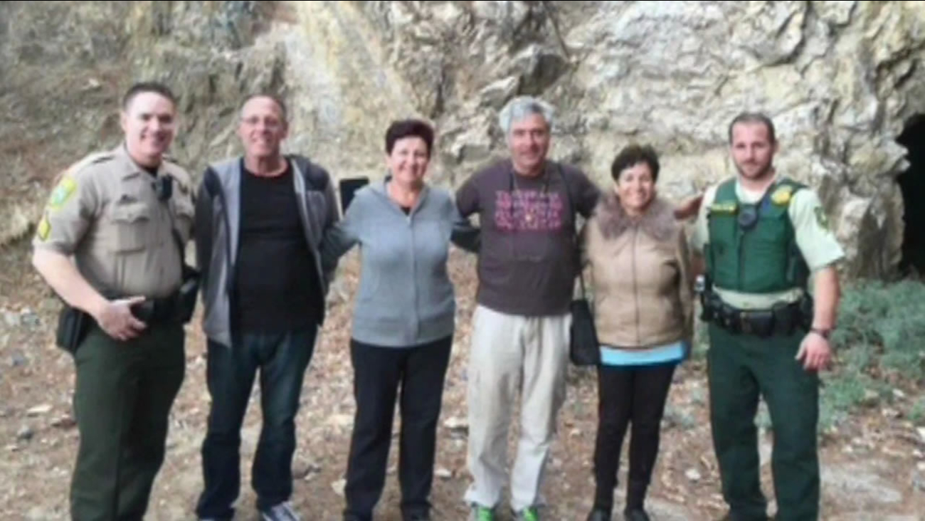Lost family rescued in Yosemite National Park