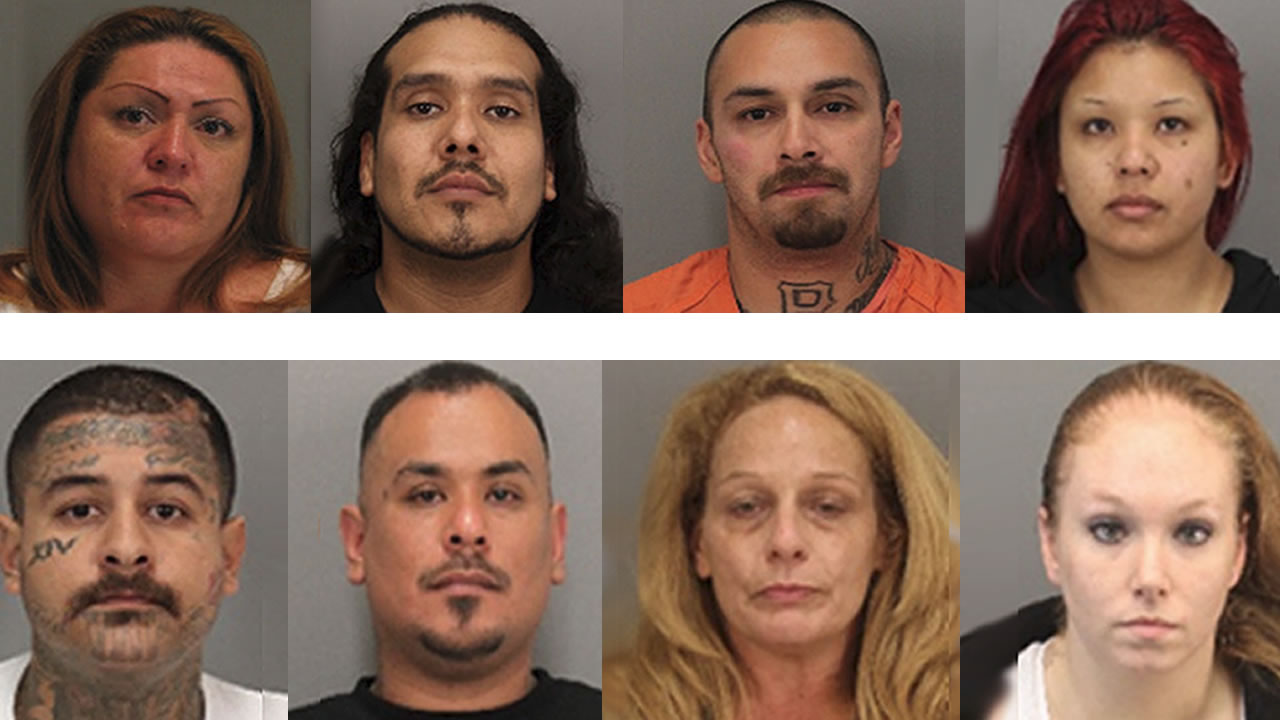Massive bust in San Jose of Nuestra Familia street gang nets