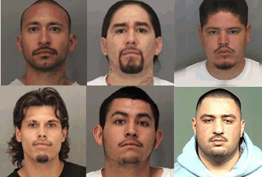 Massive bust in San Jose of Nuestra Familia street gang nets 24 ...