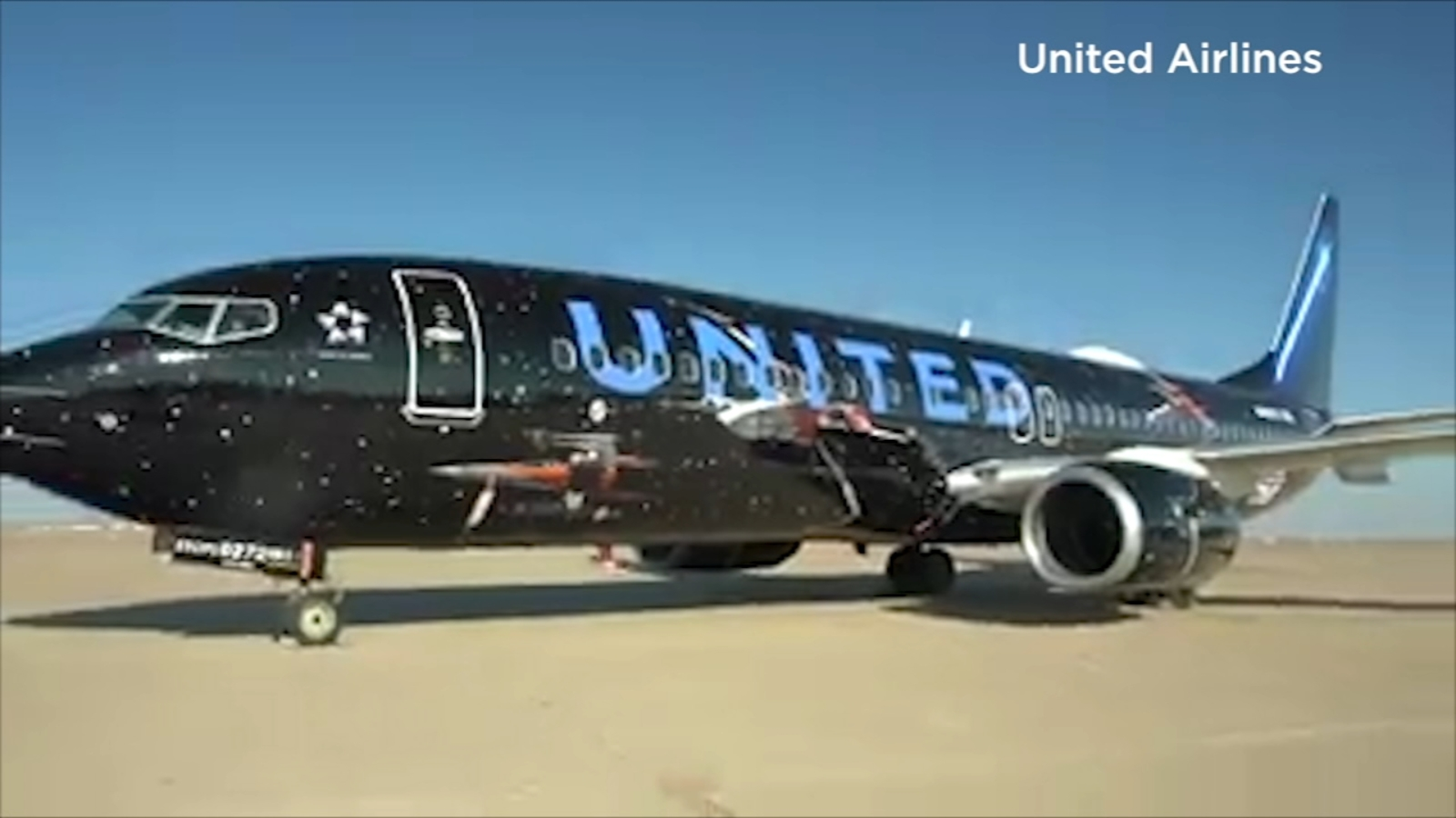 'Star Wars' themed aircraft to take its first flight out of Houston