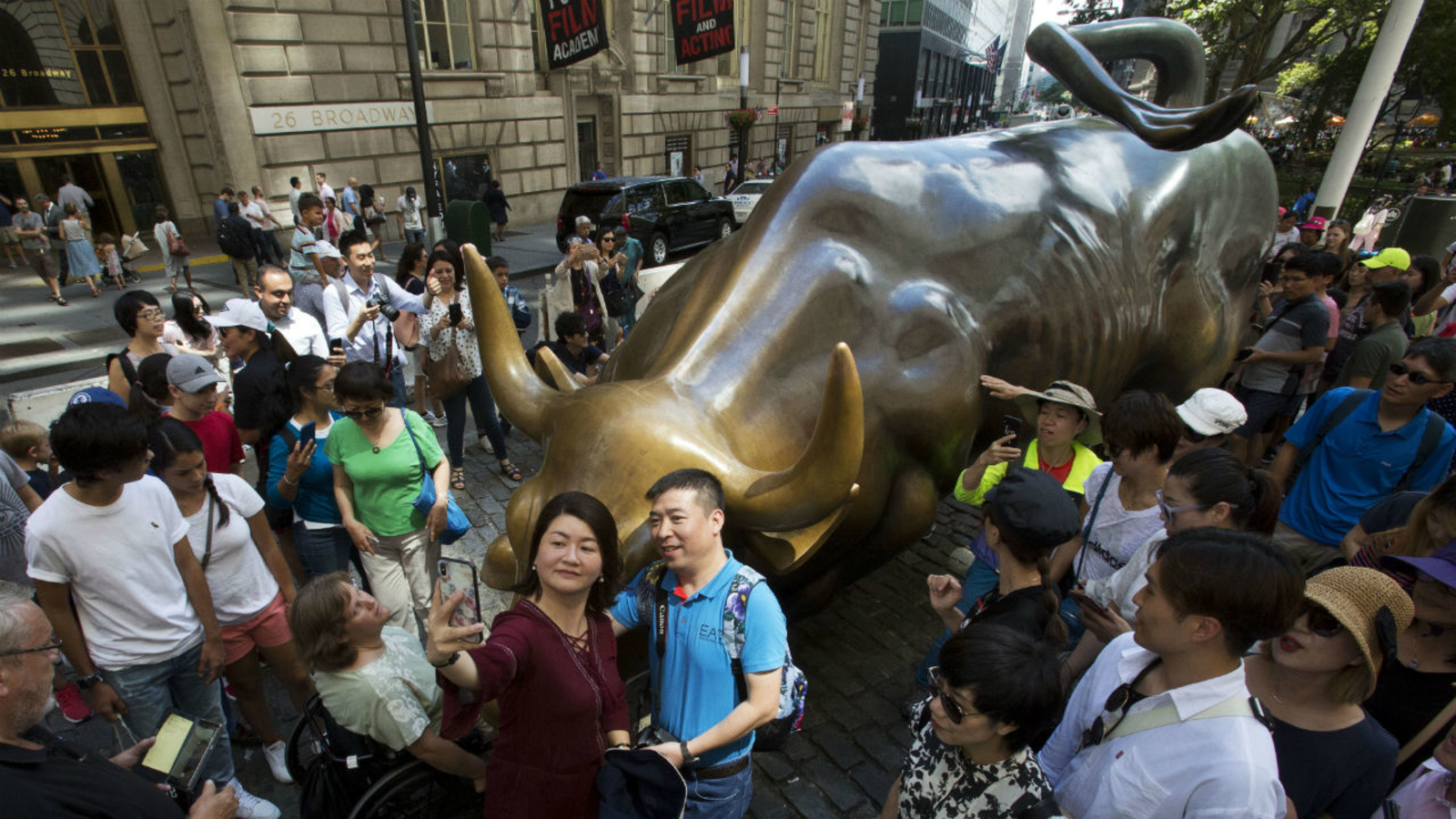 """Image result for New York's 'Charging Bull' Statue"""""""