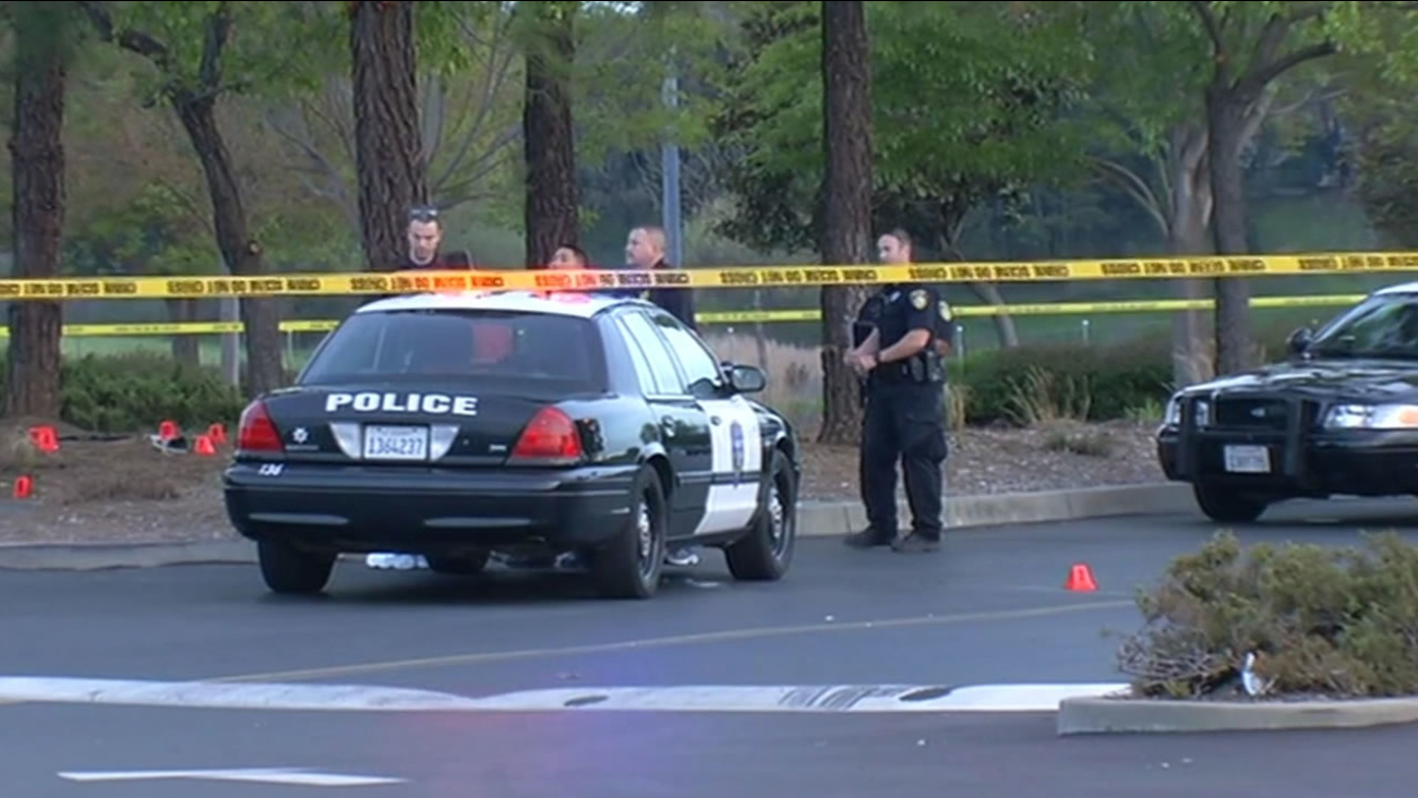 Vallejo police investigate an officer-involved shooting on Admiral Callaghan Lane.