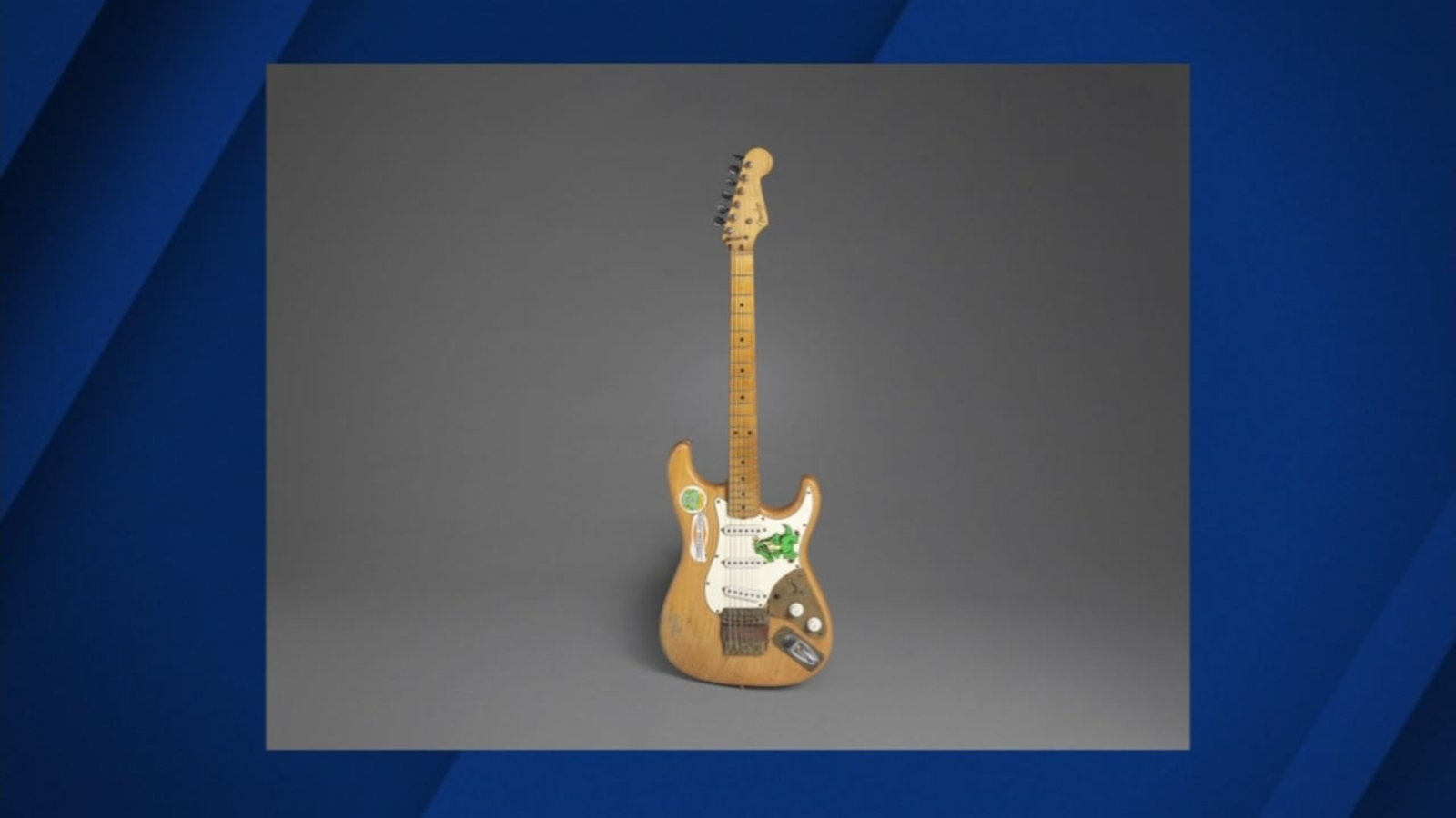 Guitar owned by Grateful Dead's Jerry Garcia to be auctioned
