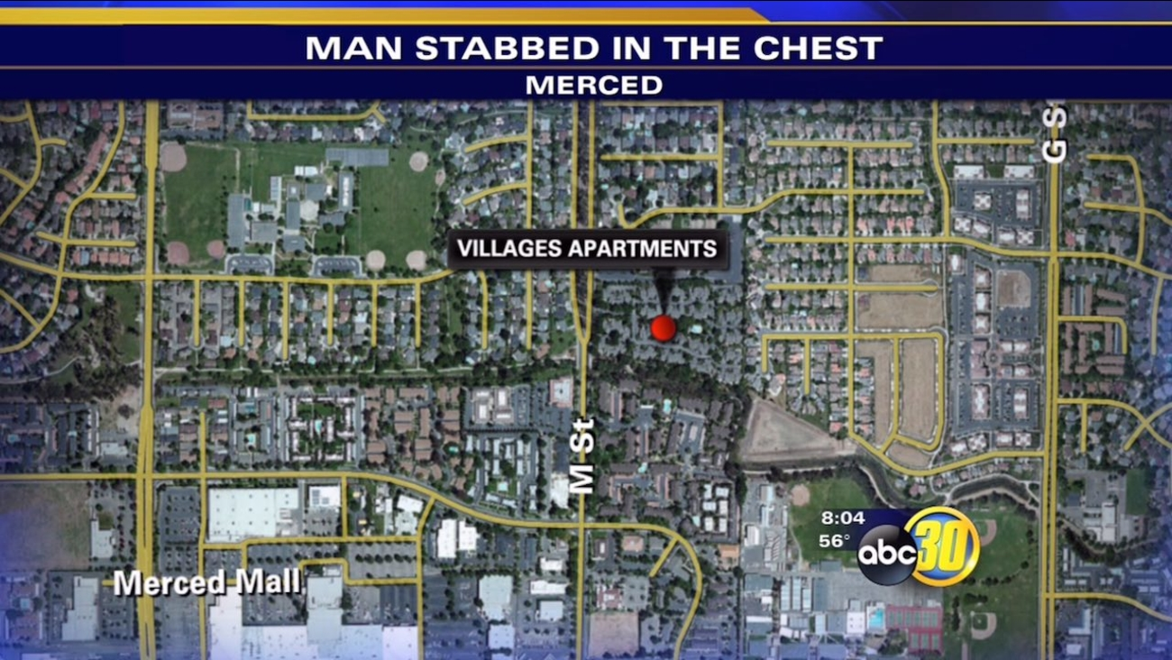 Teen sought in stabbing of sister's boyfriend in Merced
