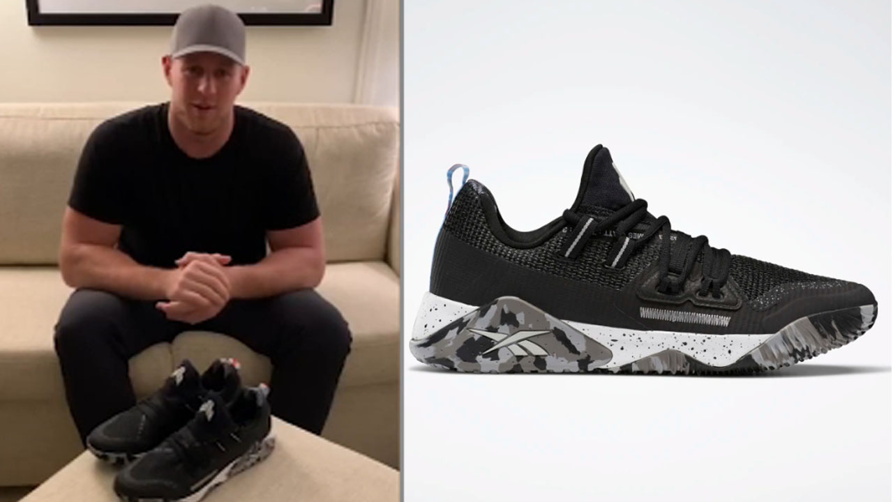 J.J. Watt's new shoe honors grandpa who