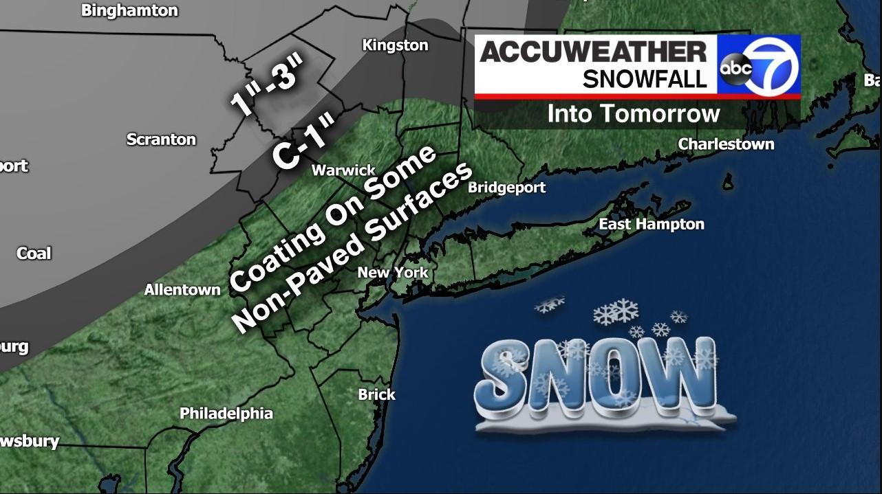 snowfall forecast