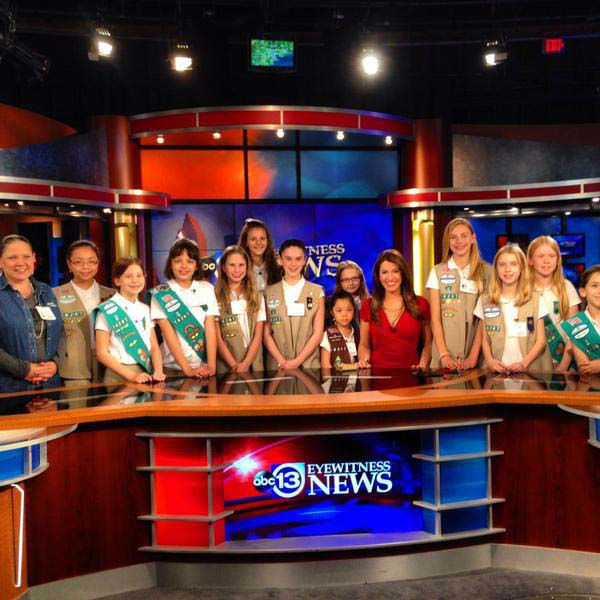 """<div class=""""meta image-caption""""><div class=""""origin-logo origin-image none""""><span>none</span></div><span class=""""caption-text"""">A Girl Scout troop stopped by the ABC-13 studios Sunday evening (KTRK Photo)</span></div>"""