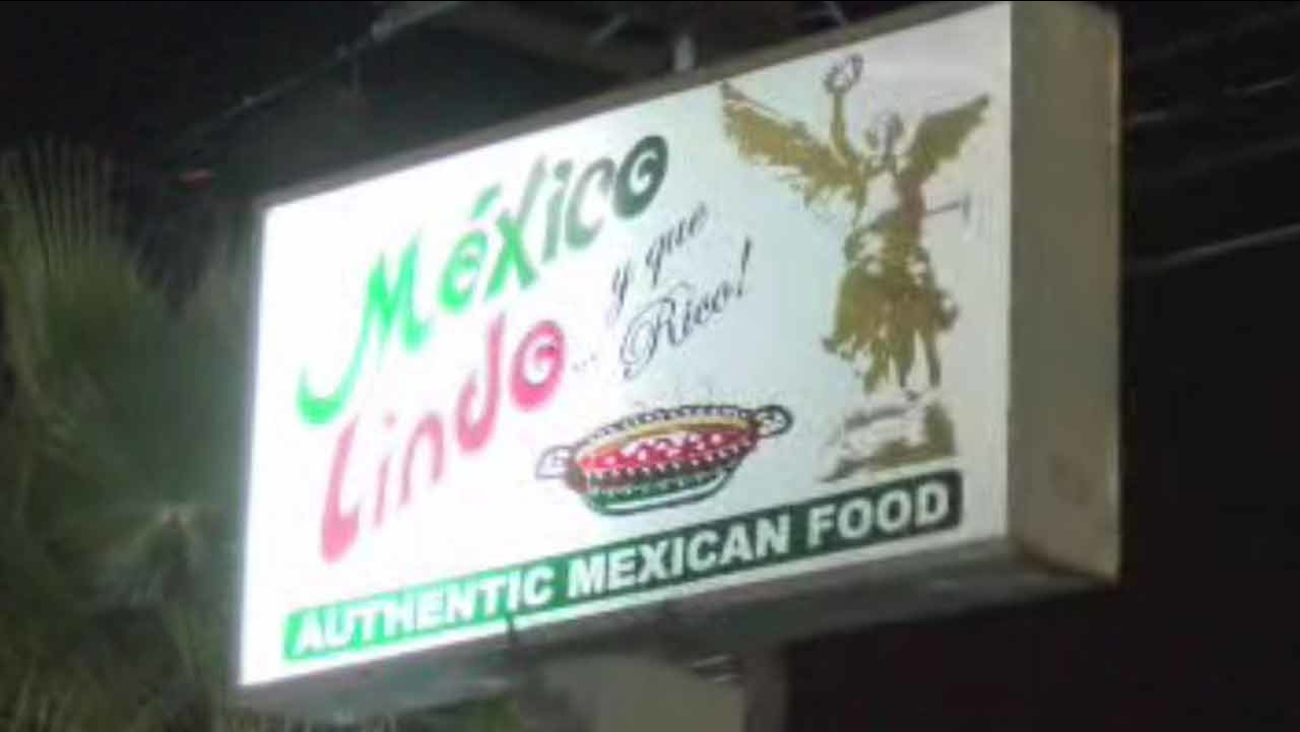 A waitress was run over by diners who skipped out on their bill at the Mexico Lindo restaurant on the 10900 block of Magnolia Street in Anaheim on Sunday, March 22, 2015.