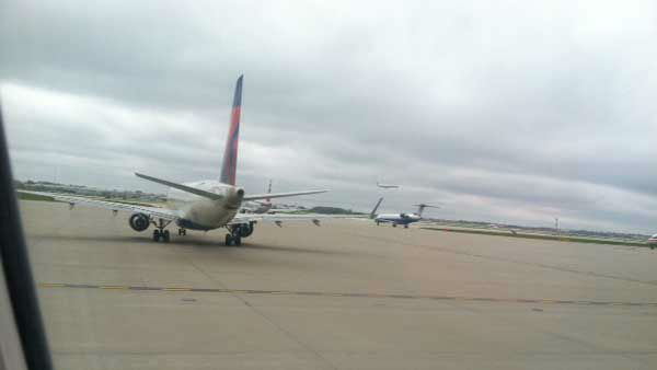 """<div class=""""meta image-caption""""><div class=""""origin-logo origin-image """"><span></span></div><span class=""""caption-text"""">A ground stop is in place at Chicago's airports after reports of smoke at an FAA traffic control facility in Elgin.</span></div>"""