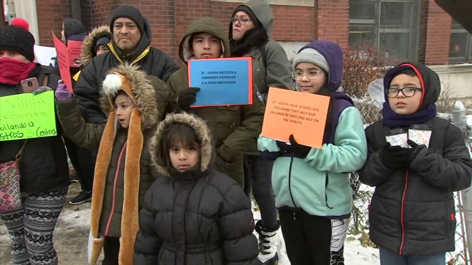 Chicago families fighting to save 3 child care centers set to close over lack of funding