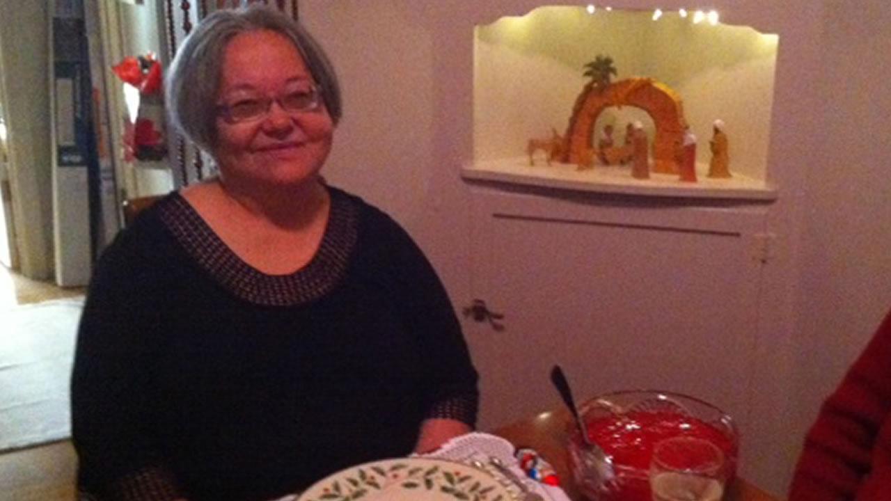 This handout photo provided by Patricia C. Sheehan, taken Dec. 25, 2013, shows Teresa Sheehan. (AP Photo/Patricia C. Sheehan)