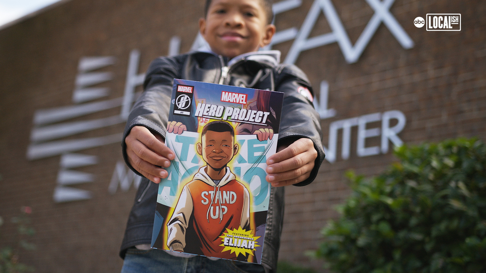 Marvel Hero Project's Elijah Lee Fights for Abused Children