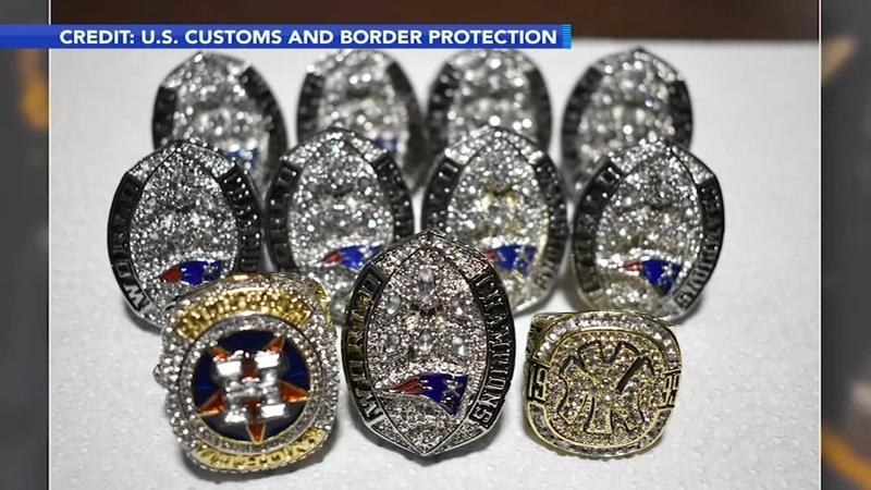 Customs Agents Seize Fake Ne Patriot Super Bowl Rings Days Before Eagles Game