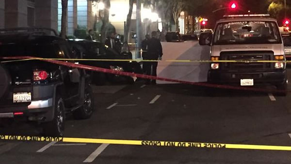Officer-involved shooting near Pine Street in San Francisco