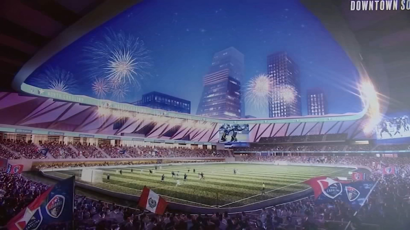 NCFC, NC Courage CEO believes stadium is needed for Raleigh to become a 'great city'