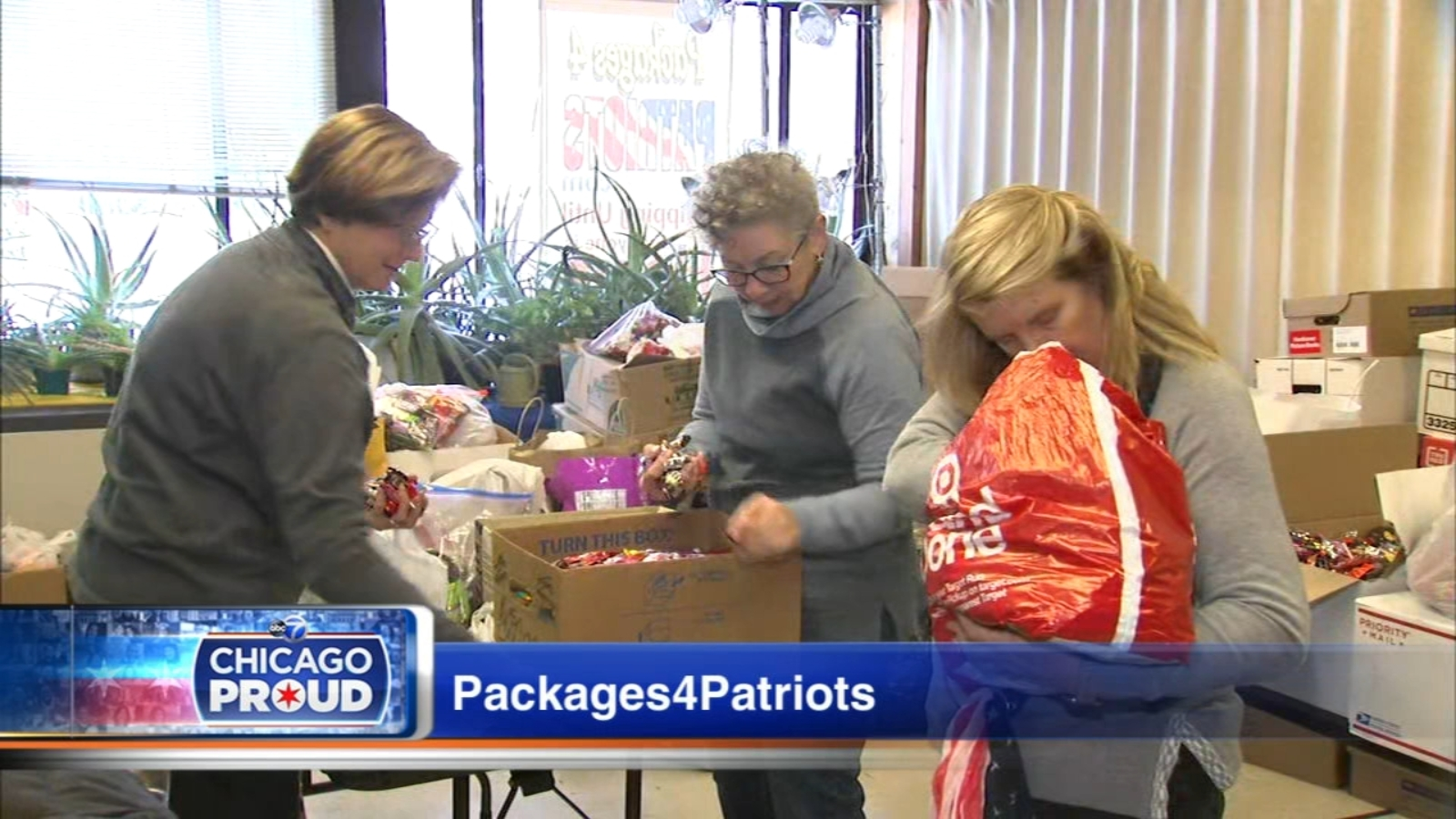 Packages4Patriots collects Halloween candy for troops overseas