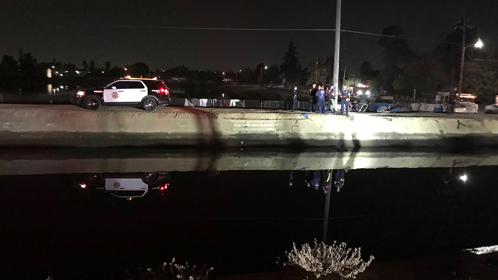 Body discovered in central Fresno canal, police say