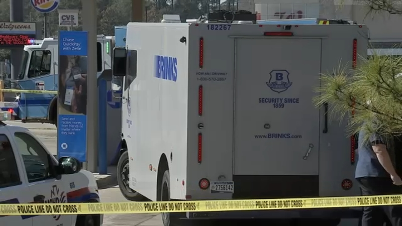 Image result for Armored car heist suspect killed by guard was from Houston