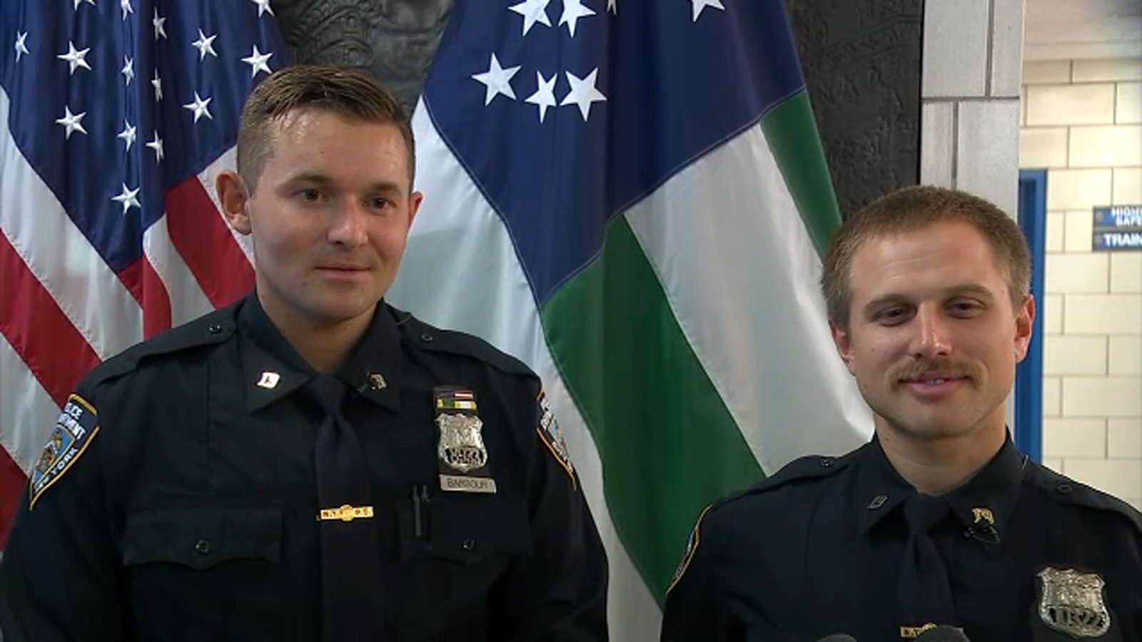 NYPD partners discover they are actually cousins