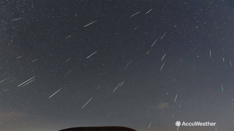 Unicorn Meteor Storm Could Be Triggered By Mysterious Comet Meteor Shower Tonight Abc7 Chicago