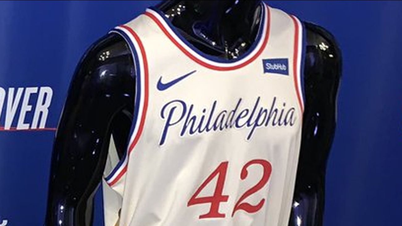 Philadelphia 76ers Unveil New 2019 2020 City Edition Jersey 6abc Philadelphia