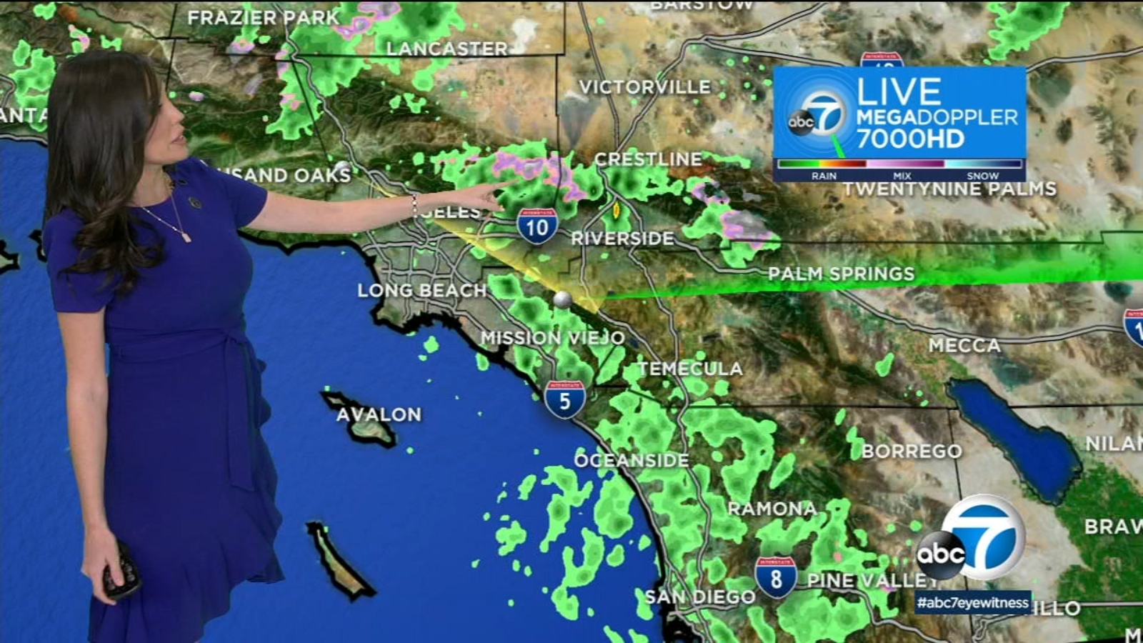 SoCal forecast: 1st storm of season moves in, snowfall coming to mountains