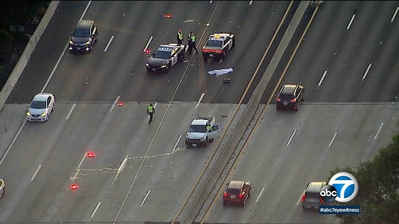 101 Freeway WB lanes reopen following deadly crash