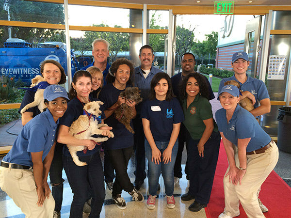 "<div class=""meta image-caption""><div class=""origin-logo origin-image none""><span>none</span></div><span class=""caption-text"">The whole Puppypalooza crew! (Minus a few dogs of course) (KABC)</span></div>"