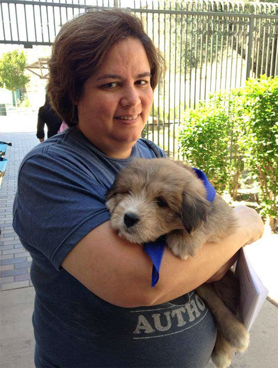 "<div class=""meta image-caption""><div class=""origin-logo origin-image none""><span>none</span></div><span class=""caption-text"">Gracie, a 2-month-old Great Pyrenees mix, was just adopted by Irine Guzman of Los Angeles. (KABC)</span></div>"