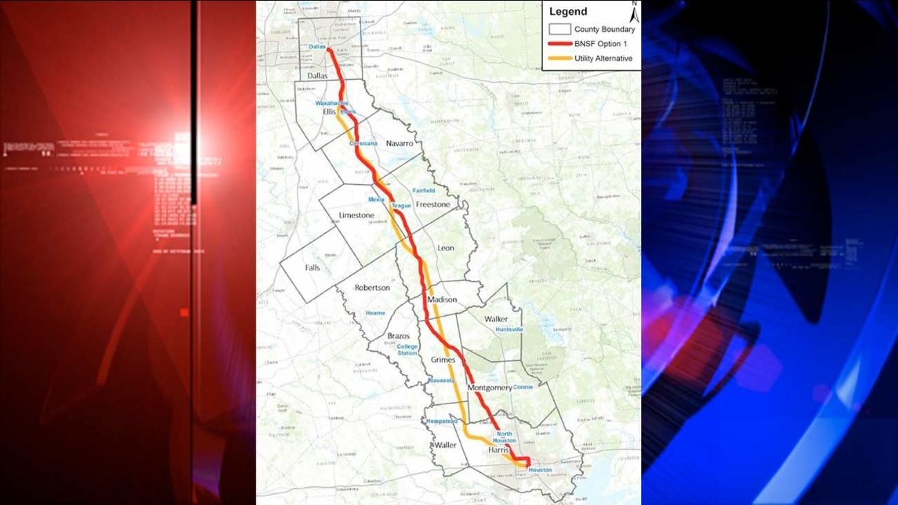 High-speed rail would connect Houston, Dallas | abc13 com