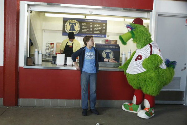 "<div class=""meta image-caption""><div class=""origin-logo origin-image none""><span>none</span></div><span class=""caption-text"">While attending a Phillies baseball game (at a recreated Veterans Stadium), Murray says Adam is old enough to leave his seat on his own on ""The Goldbergs"" Wednesday at 8:30pm. (ABC Photo/ ABC/Adam Rose)</span></div>"