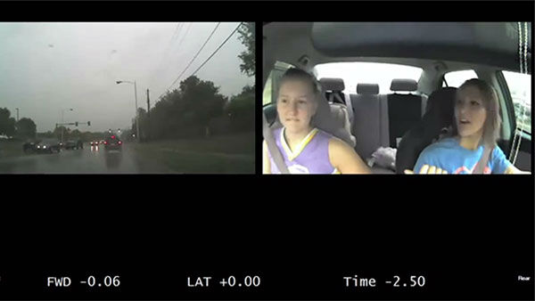 """<div class=""""meta image-caption""""><div class=""""origin-logo origin-image none""""><span>none</span></div><span class=""""caption-text"""">A few seconds of distracted driving can have dramatic consquences, a video of dashcam footage shows. A new study suggests it's a bigger problem than we thought. (Photo/AAA)</span></div>"""