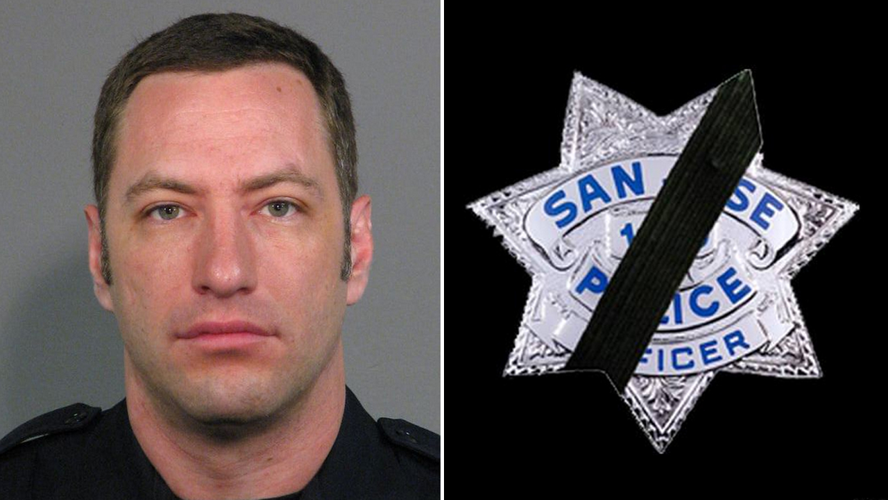 Officer Michael Johnson was shot and killed in San Jose, Calif. on March 24, 2015.