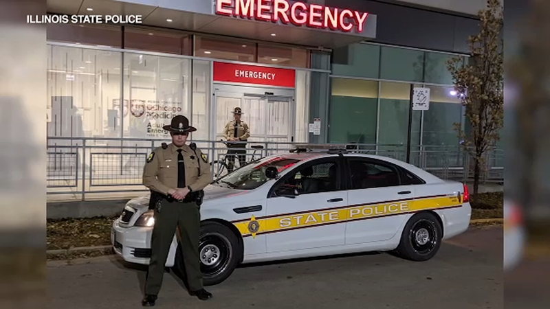 Illinois state troopers rescue heart in time for transplant surgery