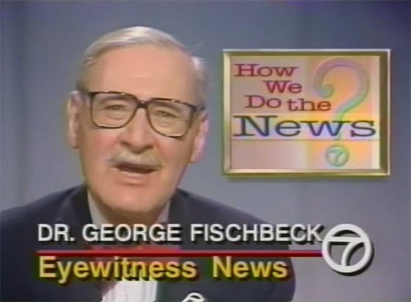 """<div class=""""meta image-caption""""><div class=""""origin-logo origin-image none""""><span>none</span></div><span class=""""caption-text"""">Dr. George Fischbeck appears with Paul Moyer on Eyewitness News for a special segment called 'How We Do The News' in 1989. (YouTube)</span></div>"""