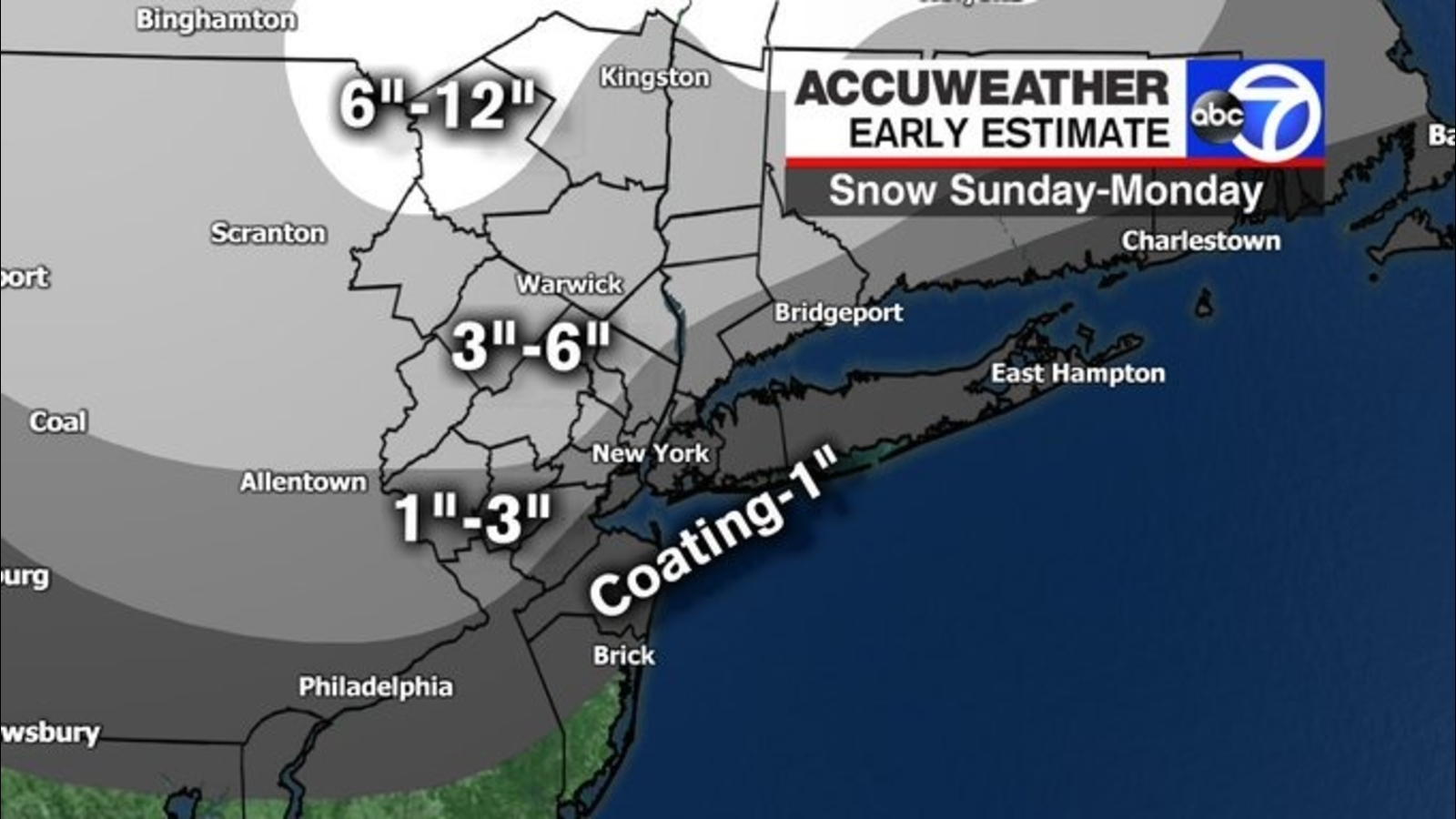 AccuWeather Alert: Winter Storm Watch, Warning issued