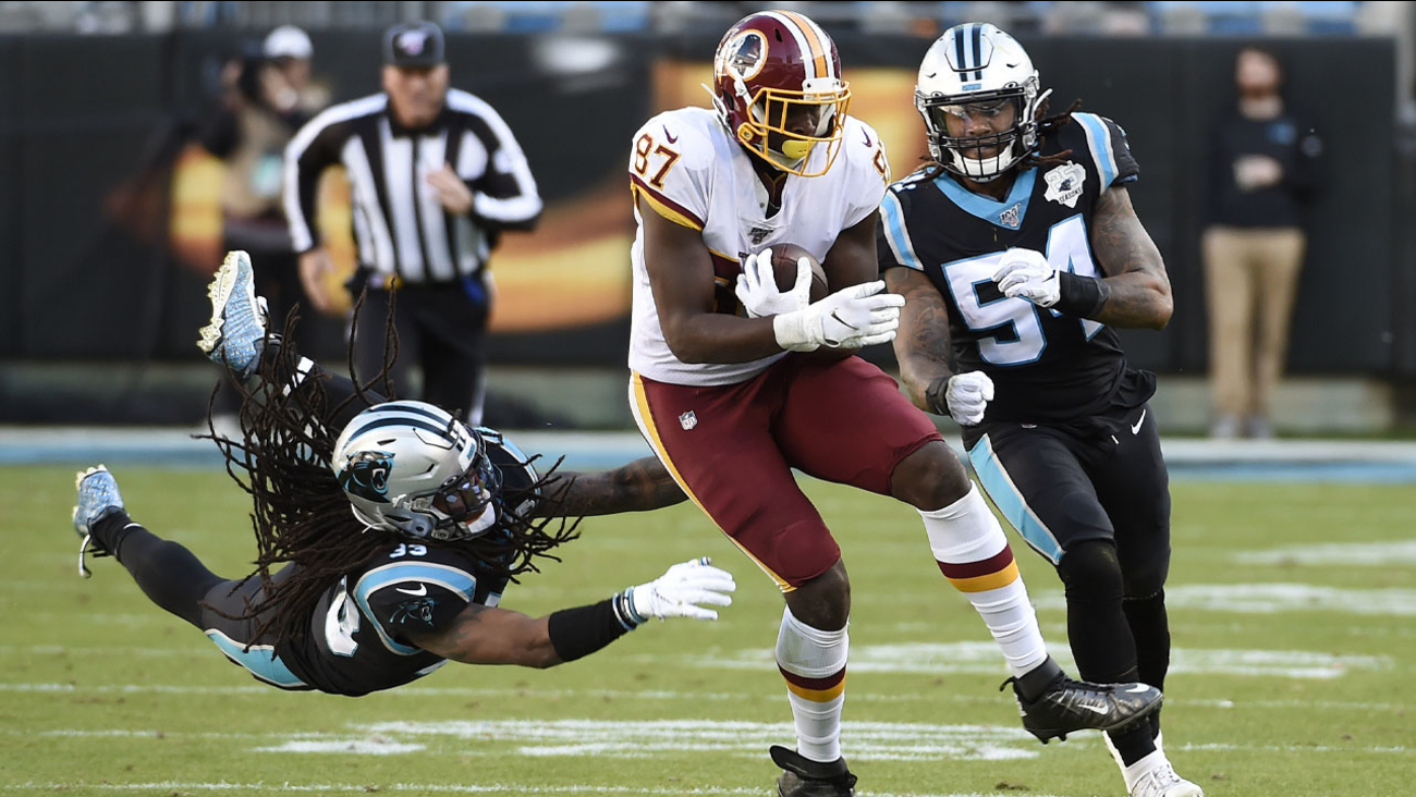 Panthers fall to Washington Redskins, 29-21 - ABC11 Raleigh-Durham