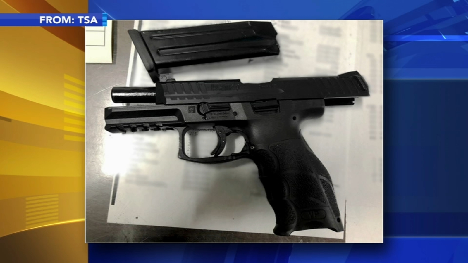 Chester County man arrested with gun at Philadelphia International Airport