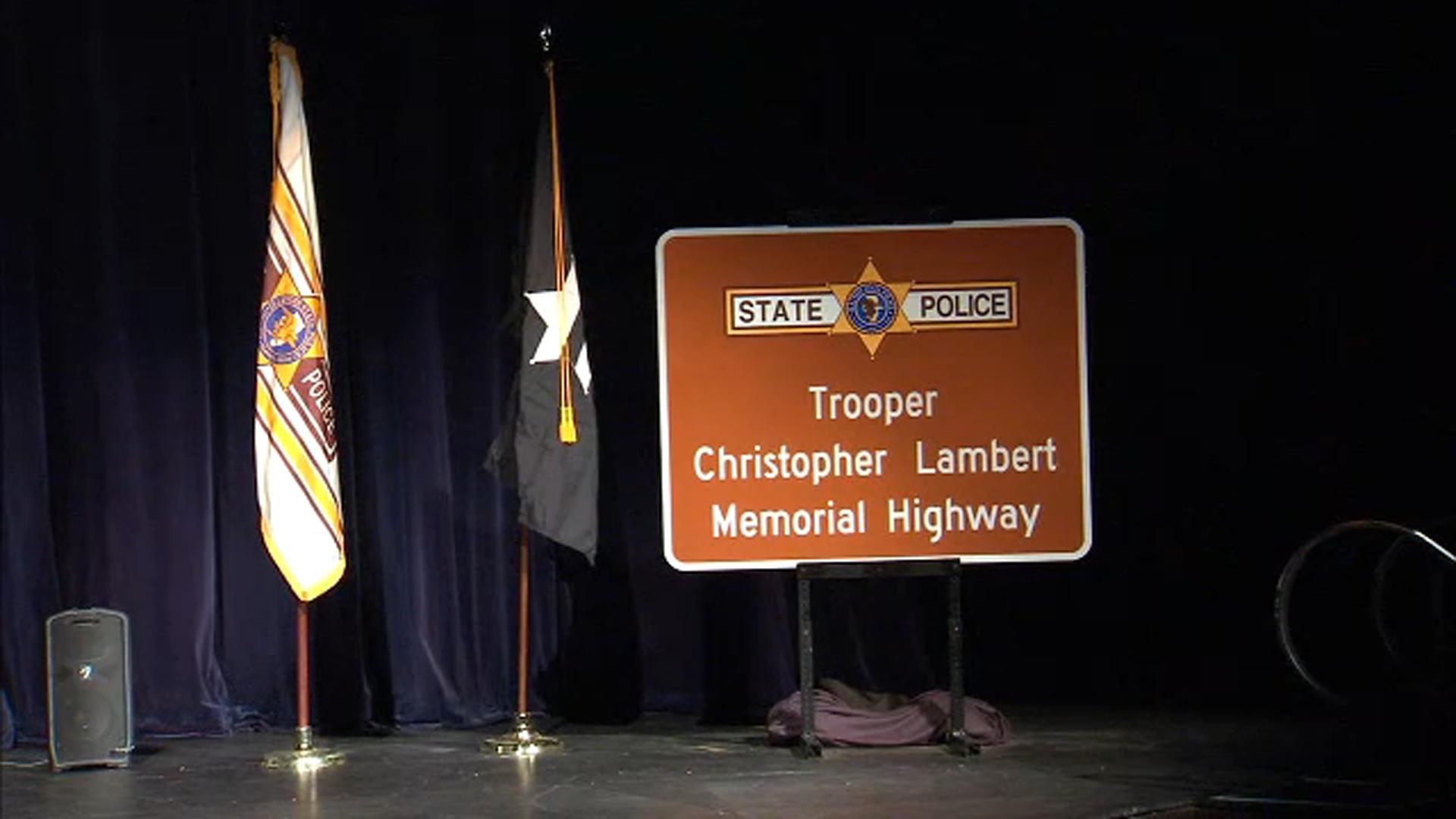 'Trooper Christopher Lambert Memorial Highway': officials ...